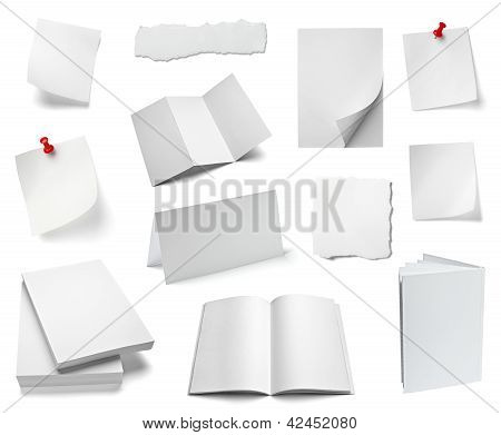 Paper Note Office Notebook Document Business