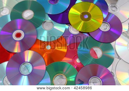 Cd And Dvd  Technology Background