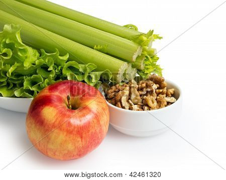 Ingridients For Waldorf Salad