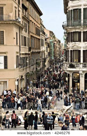 Street Scenes In Rome