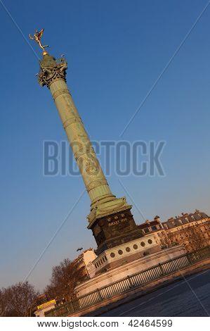 Bastille Square, Paris, Ile De France, France