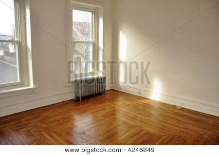Empty Room In Old House