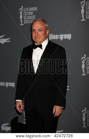 LOS ANGELES - FEB 19:  Lorne Michaels arrives at the 15th Annual Costume Designers Guild Awards at the Beverly HIlton Hotel on February 19, 2013 in Beverly Hills, CA