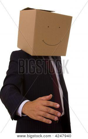 Empresario de cartón