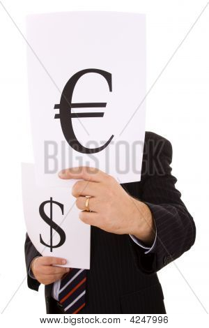 Money Expert Businessman