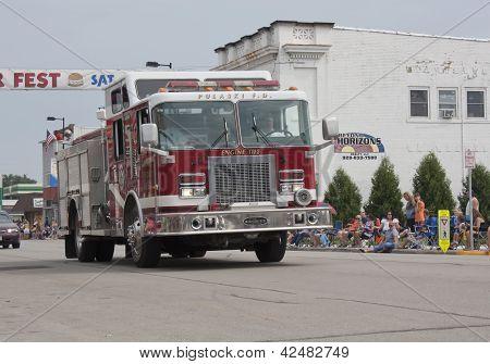 Pulaski Engine 1112 Firetruck