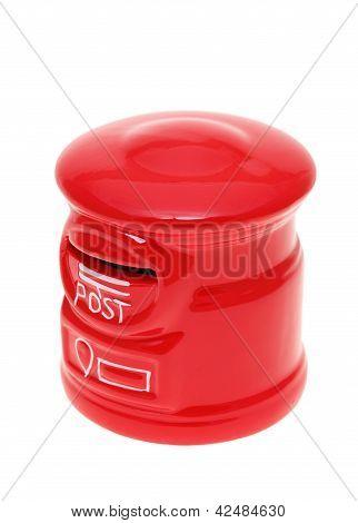 Post bank style money box