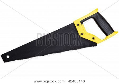 Handsaw Isolated On White Background
