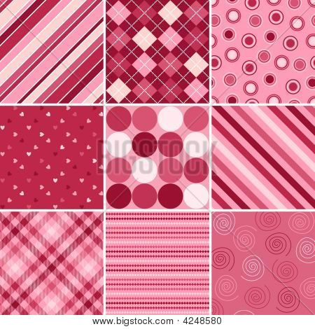 Nine Valentine Patterns