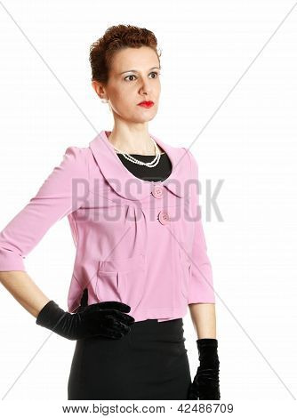 Elegant Middle Age Woman