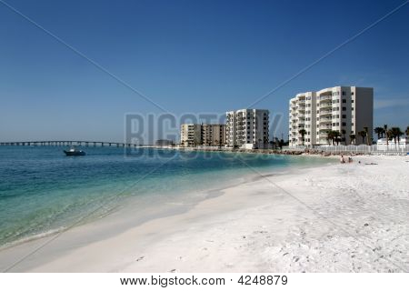 Condos Along The Beach