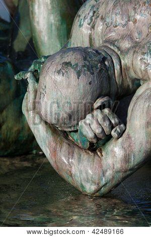 Monument Aux Girondins, Bordeaux, Gironde, Aquitaine, France