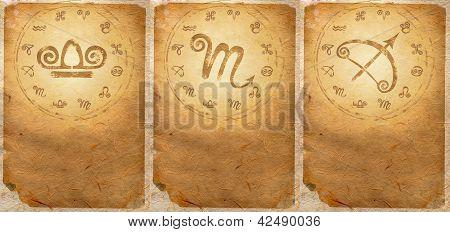 Série do zodíaco