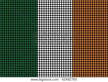 Abstract Ireland Flag