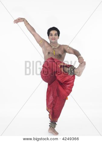 Indian Traditional Male Dancer
