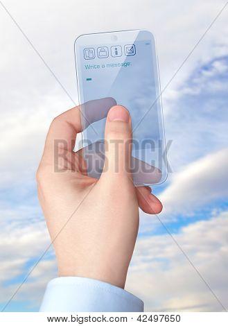 transparent smart phone