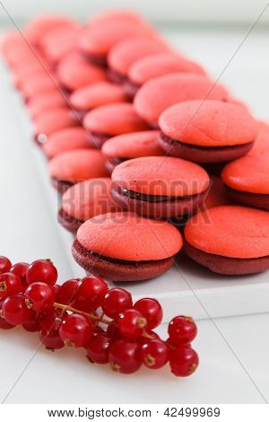 Pile Of Forest Fruits Marron Cookies