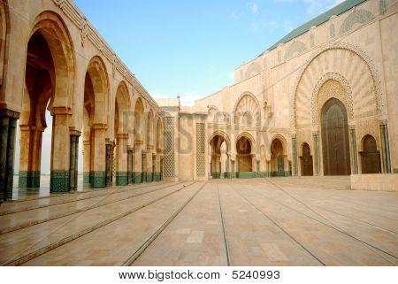 Hassan Mosque, Casablanca, Morocco