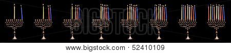 Chanuka Candles