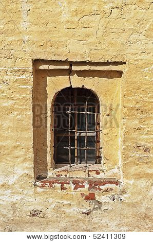 Window In Ancient Russian Monastery