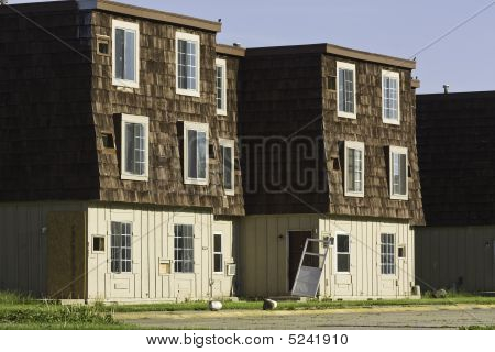 Abandoned Apartment Buildings