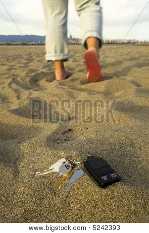 Lost Keys At The Beach