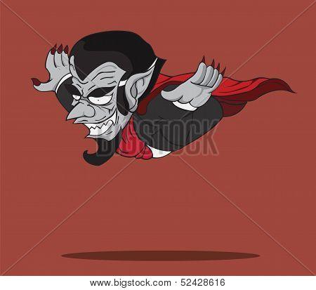 vampire. Vector and illustration