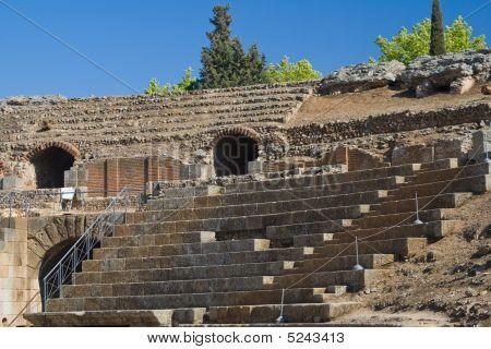 Roman Amphitheater Of Merida