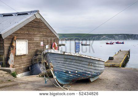 Boats At Swanage