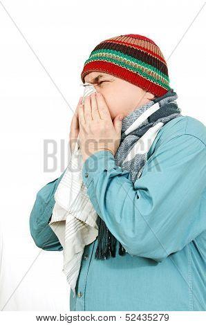 A Man With A Handkerchief.
