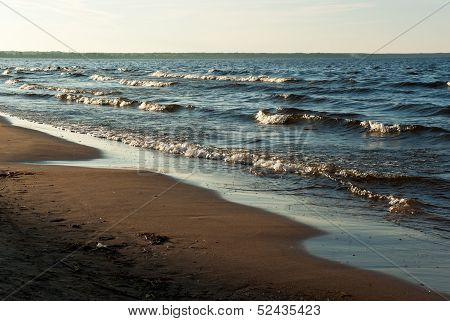 Lake Ladoga Beach