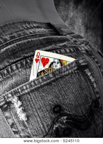 Queane Of Hearts In A Pocket