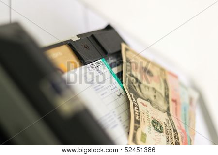 Payment With Card, Cash