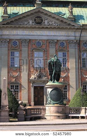 The Swedish House of Nobility In Stockholm