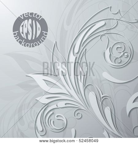 Vector illustration of a patterned background