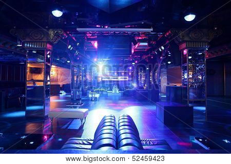 Luxury Night Club In European Style