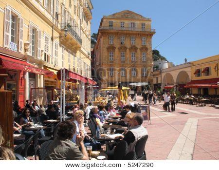 Street Cafe Nice