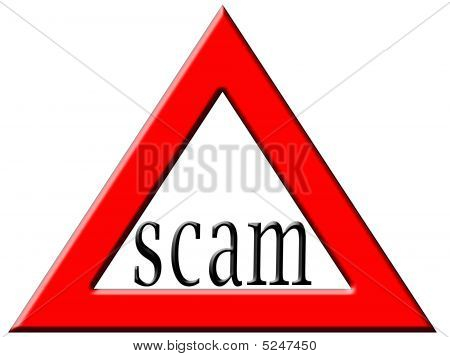 Caution Scam