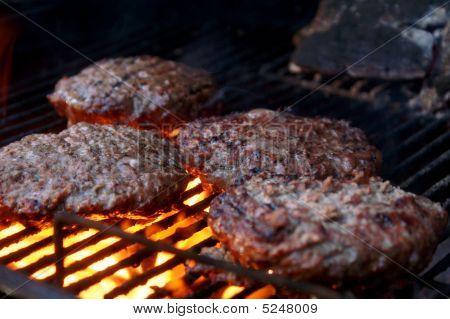 Grilled Hamburgers