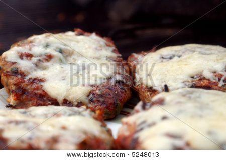 Grilled Chicken Florentine Hamburgers