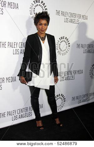 LOS ANGELES - OCT 16:  Angela Bassett at the 2013 Paley Center For Media Benefit Gala at 21st Century Fox Studios Lot on October 16, 2013 in Century City, CA
