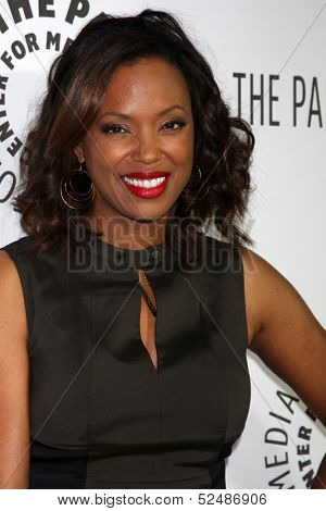 LOS ANGELES - OCT 16:  Aisha Tyler at the 2013 Paley Center For Media Benefit Gala at 21st Century Fox Studios Lot on October 16, 2013 in Century City, CA