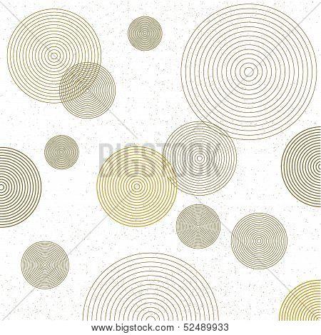 Circle wallpaper. circle decor background vector.