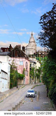 Paris Montmartre Landscape