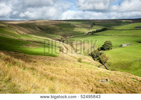 cloud patterns on dales valley