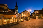 image of evangelism  - Image showing the Small Square in Sibiu near the Liars - JPG