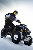 Rider costs near to ATV. Winter season
