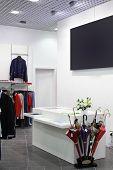 European Brand New Clothes Shop poster