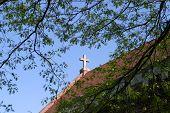 Stone Gable Cross