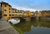 Ponte Vecchio, The Old Bridge At Florence